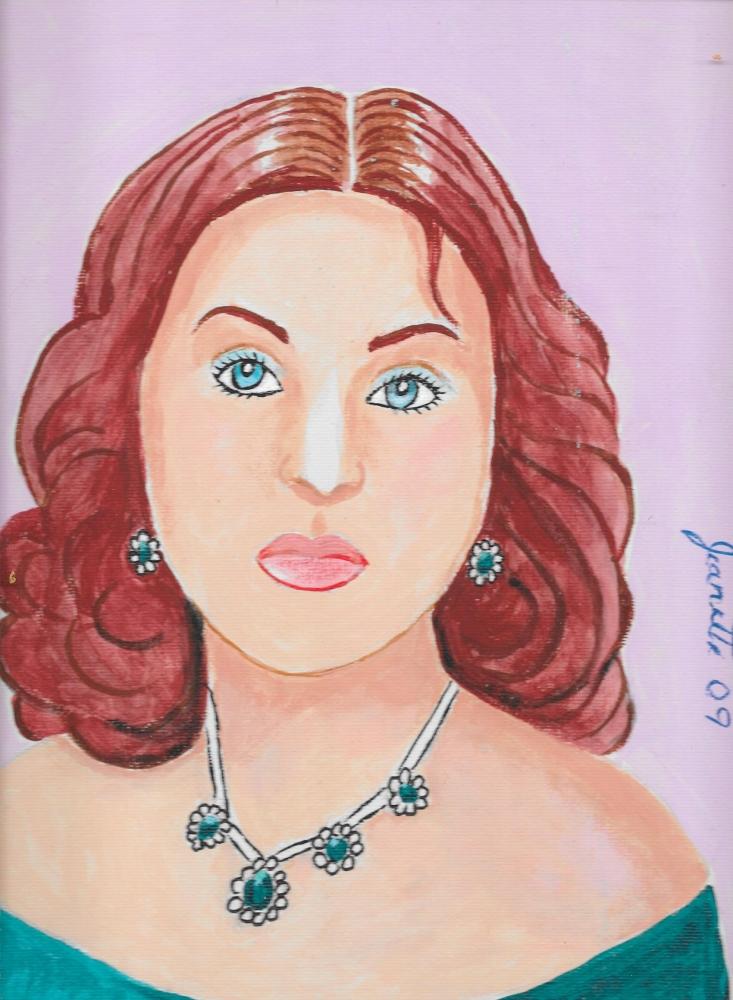 Arlene Dahl par Jeanette